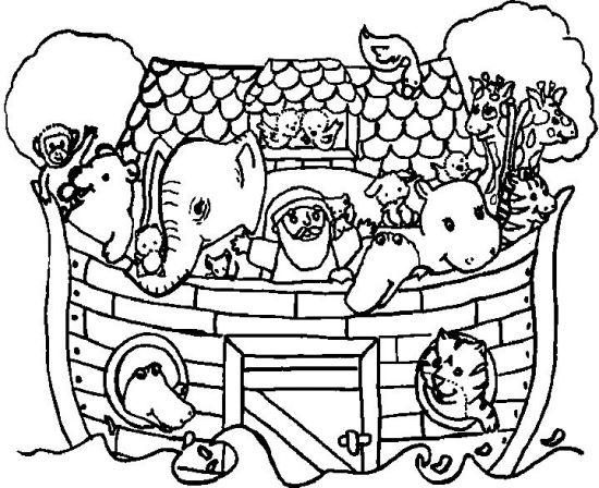Dibujos Arca De Noe Dibujos Colorear Arca De Noe Pintar Arca De Noe